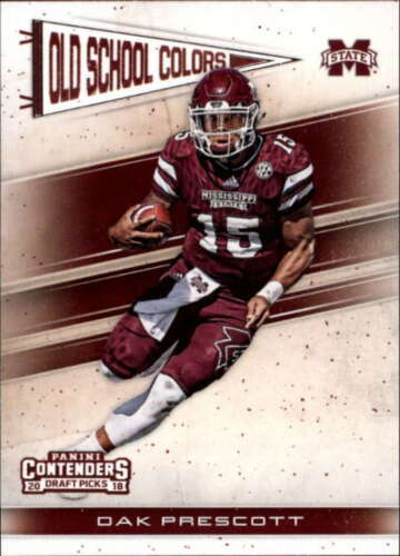 2018 Panini Contenders Draft Picks Old School Colors Singles Pick Your Cards