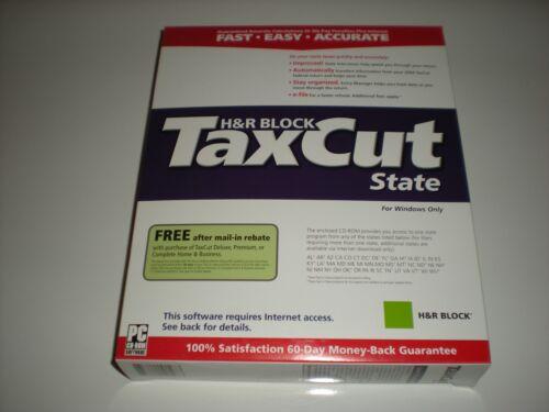 TaxCut 2004 State version New in box.