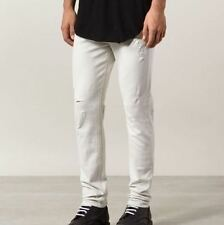Cotton Blend Slim, Skinny White Jeans for Men | eBay