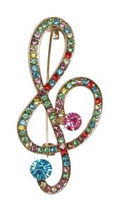 Broche-clave-de-sol-estras-cristal-multicolor-acero-dore-Musica