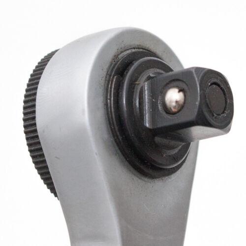 Länge 200 mm Umschaltknarre Rechts- // Links Standardratsche 3//8 Zoll Zähne 72