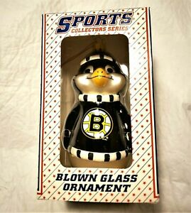 Boston Bruins Metal Ornament Nib