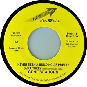 7-034-GENE-SEAHORN-Never-Seen-Building-As-Pretty-NEW-TREND-Country-US-1990-like-NEW