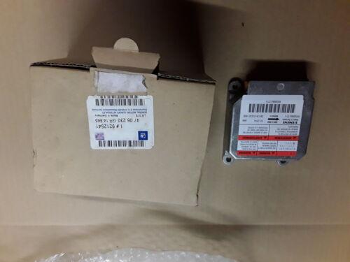 ORIGINAL GM OPEL Steuergerät Airbag NEU Agila A 9212541 4706230