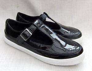 Grayslake para Iris Nuevo negro mujer Clarks charol de zapatos EqO0nF0xR