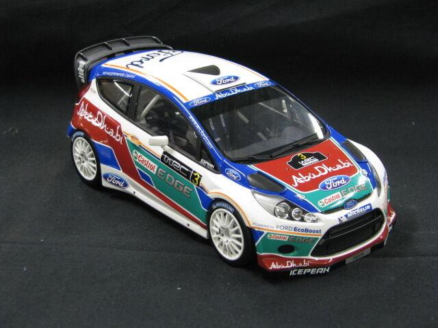 Minichamps Ford Fiesta RS WRC 2011 1:18  3 Presentation Version  MCC