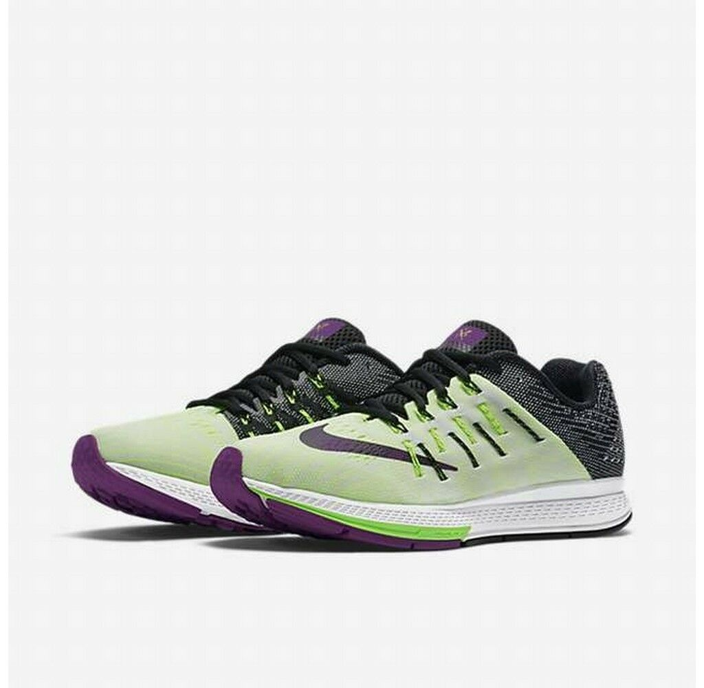 Nike Air Zoom Elite 8 White Black Volt Vivid Purple running training 748588-107