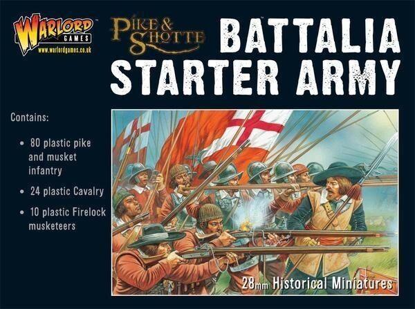 Warlord Pike & Shotte - Battalia Básico Ejército 28mm Plástico Ecw Tyw