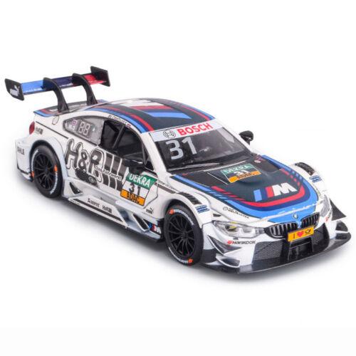 BMW M4 DTM 2017 1:32 Die Cast Modellauto Auto Spielzeug Model Pull Back Sammlung