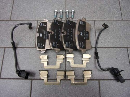 Audi  A8 4H Bremsbeläge 330x22 mm  Bremse Hinterachse  4H0698451D 4H0698451M