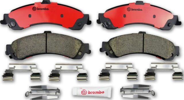 Disc Brake Pad Set-Premium NAO Ceramic OE Equivalent Pad Rear Brembo P10045N
