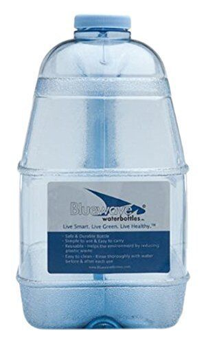 NEW Bluewave 1 Gallon Square BPA Free Water Bottle with 48mm Cap FREE SHIPPING