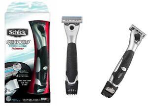 Schick-Quattro-Titanium-Trimmer-Cartridge-Blade-Refil-Razor-Shaver-Handle-Quatro