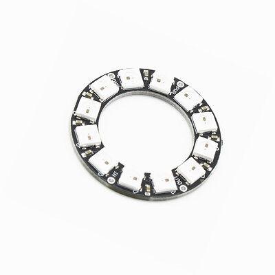1PCS RGB LED Ring 12 Bit WS2812 5050 RGB LED + Integrated Driver Module