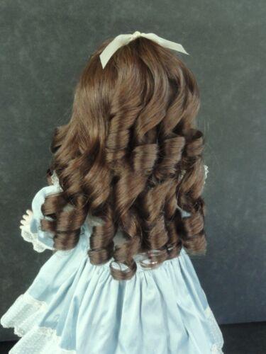 Taille 5 à 16 25 à 49 cm Perruque 100/% cheveux naturels - Poupées FRANCE