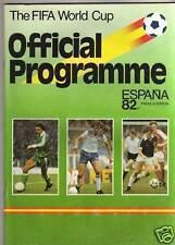 Orig.Komplett PRG    Weltmeisterschaft SPANIEN 1982  !!