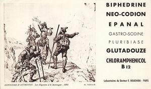 Buvard-Biphedrine-Alpinisme-d-039-autrefois-PL-XXIX