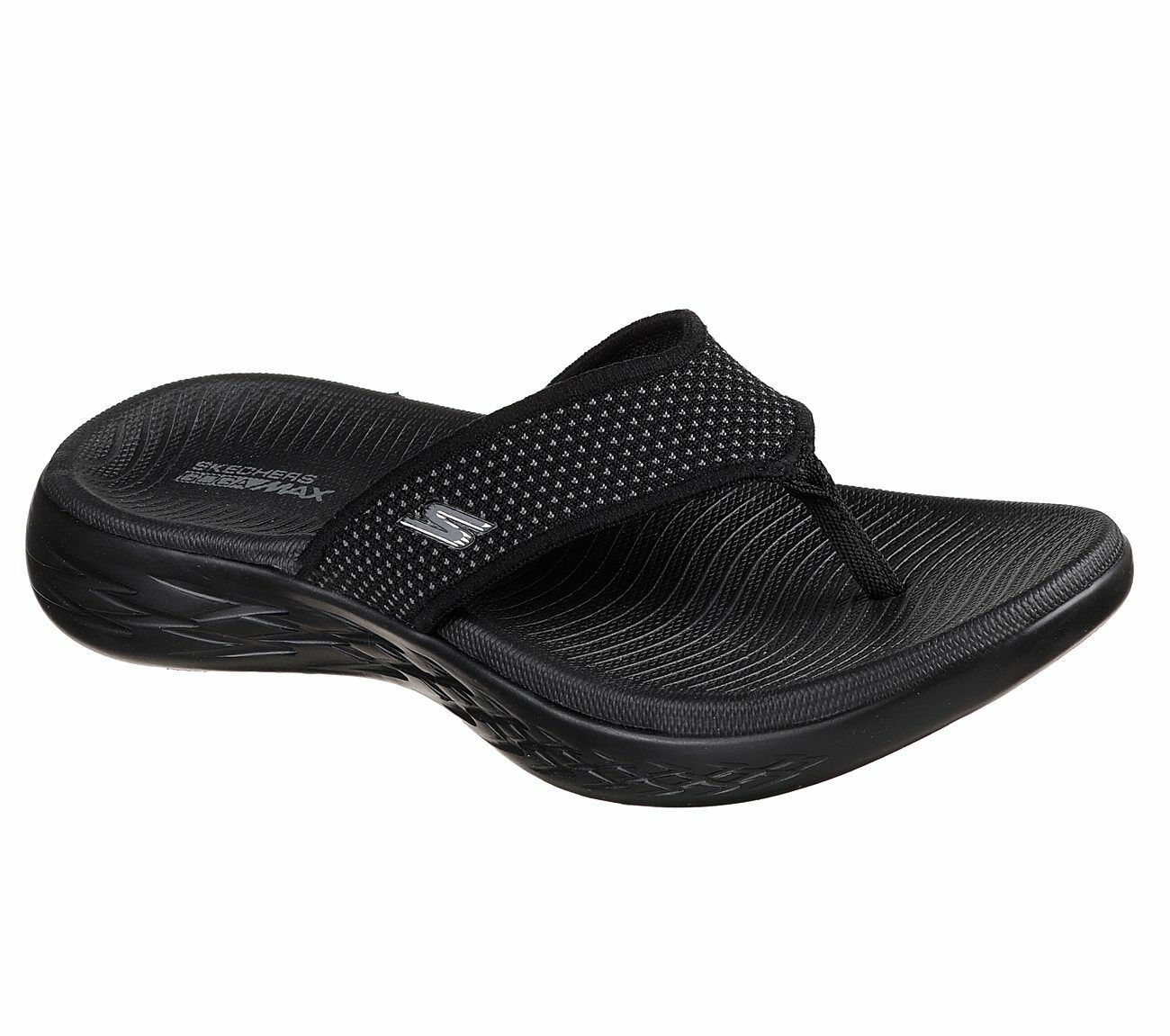 Skechers Damen Zehentrenner für Unterwegs 600 Sportlich Zehentrenner Damen Sandale 15300. UK Größen 92ba94