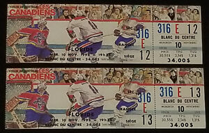 1993-MONTREAL-CANADIENS-vs-FLORIDA-PANTHERS-MONTREAL-FORUM-UNUSED-TICKET-2