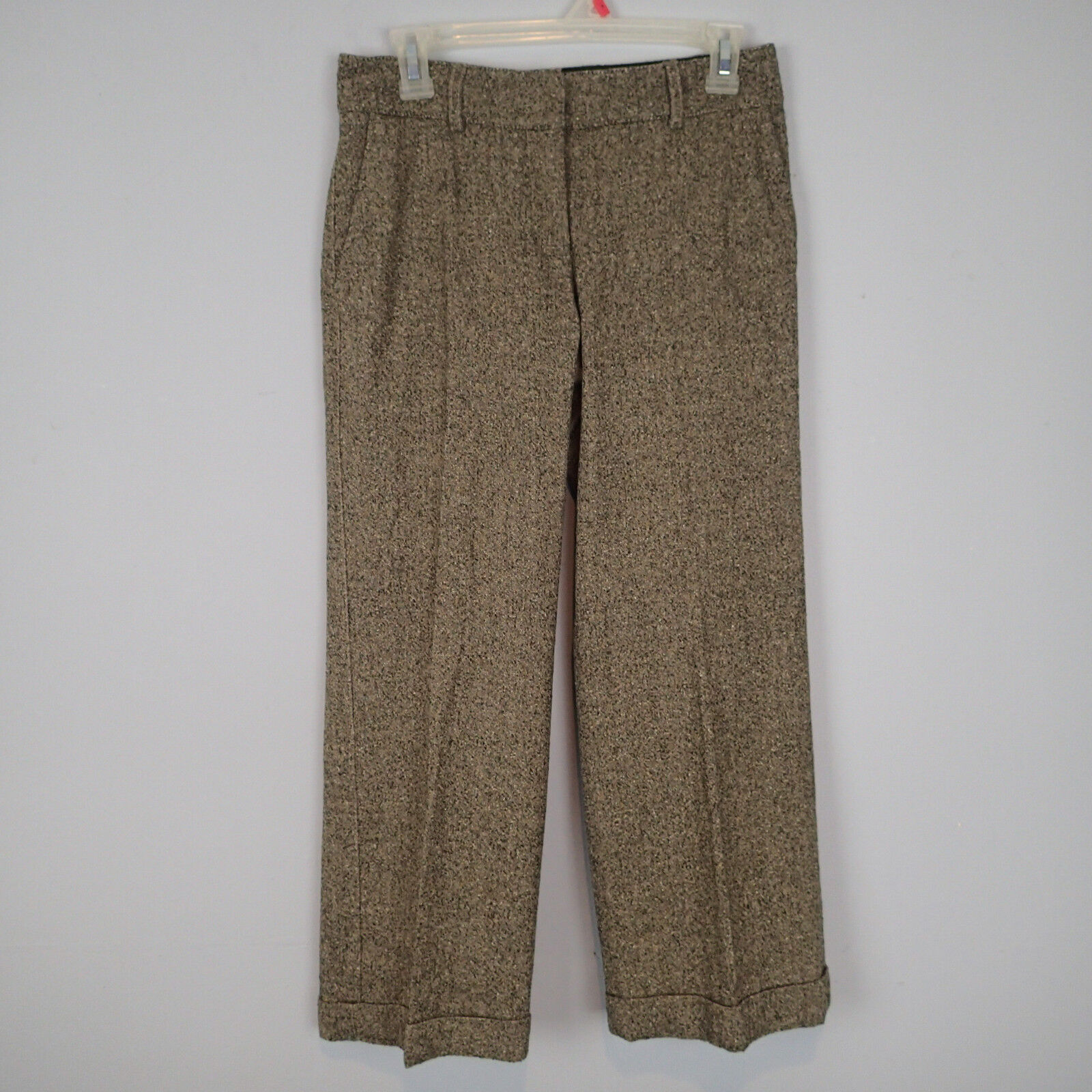 PIAZZA SEMPIONE CAPRIS  CROPPED  PANTS ITALY SZ 40 WOOL BLEND ry
