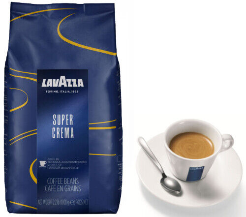 Best Italian Coffee Brands - Buy Lavazza Super Crema Coffee Beans 1, 2, 3, 6 x 1kg - From £10.49 Per Kg- FREE Cup Online in Philippines. 282162250923