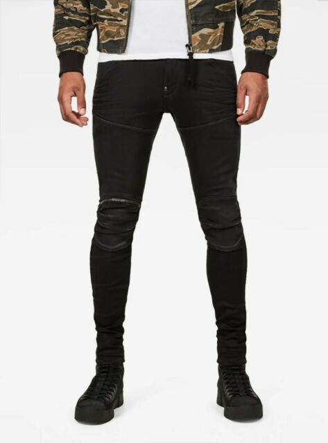 G-Star RAW Men/'s 3D Cobler Processed 5620 3D Zip Knee Skinny Jeans $210