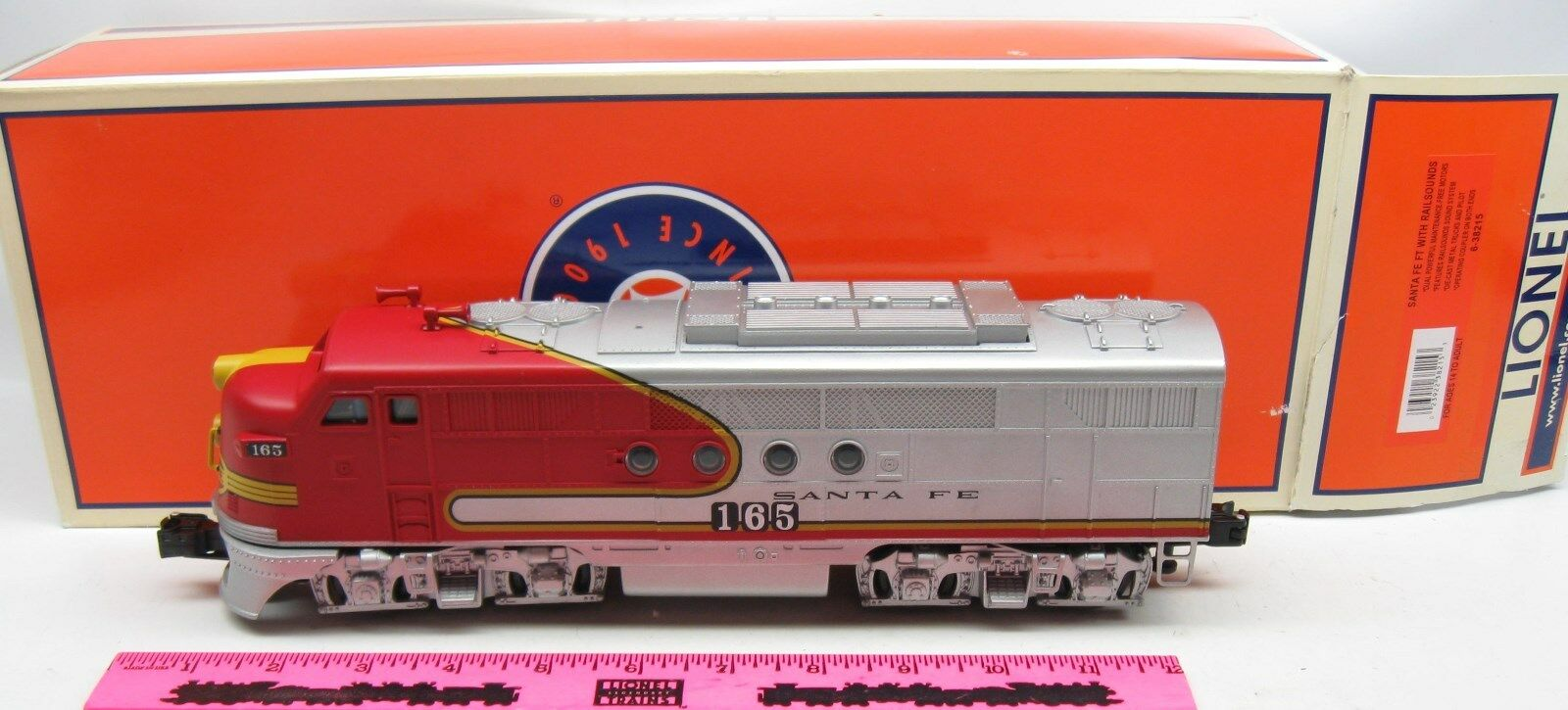 Lionel 6-38215 Santa Fe with railsounds