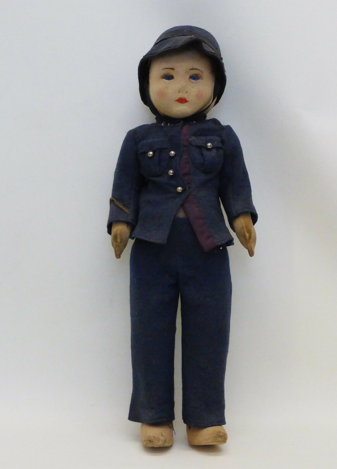 Antico Chad Valley Police Woman doll