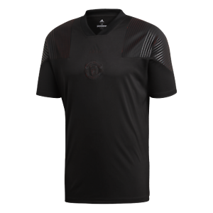 Details about Manchester United FC adidas Men's Icon Retro T Shirt Large Black New