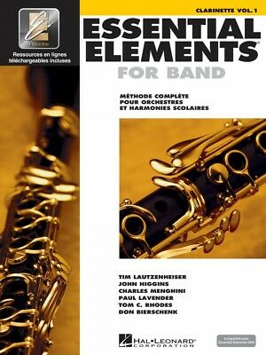 Musical Instruments & Gear Intellective Essential Elements Ee2000 Clarinet B-flat French Edition New 000860209