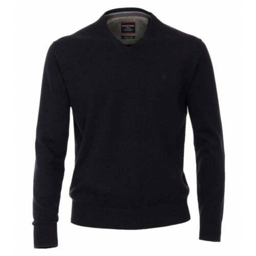 Casa Moda Plain V Neck Knitwear