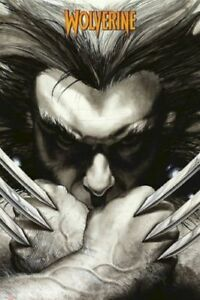WOLVERINE-ART-POSTER-PENCIL-55-24x36-Marvel-Comic-Book-Simone-Bianchi-X-Men