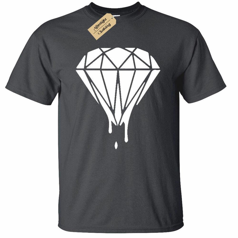 Bien Informé Enfants Garçons Filles Melting Égouttement Strass Ganster Criminal T-shirt Music Larges VariéTéS