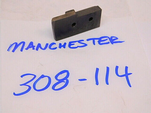 USED MANCHESTER RIGHT HAND SUPPORT BLADE O.D GROOVING TOOLHOLDER 308-114