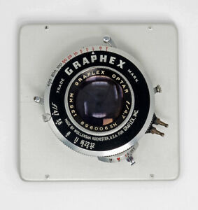 Graflex-Optar-135mm-F4-7-With-Board-amp-Extras-TESTED