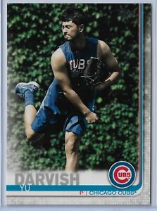 2019 Topps Series 2 Baseball Short Print Variation Yu Darvish #372 Chicago Cubs