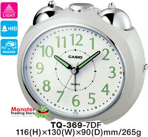 CASIO-ALARM-DESK-CLOCK-TQ-369-7DF-TQ369-NEW-12-MONTH-WARRANTY
