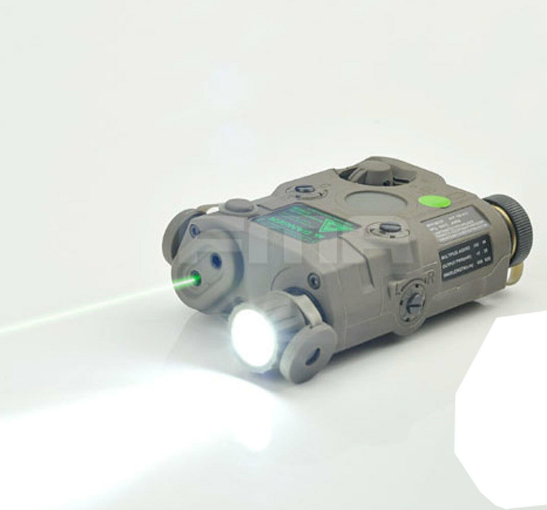 NEW PEQ-15 Upgrade Version  LED White light + Green laser with IR Lenses FG 0071