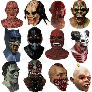 Latex Halloween Disfraz Overhead Hecho A Mano Horror Vampiro Zombies Goonies Máscaras  </span>