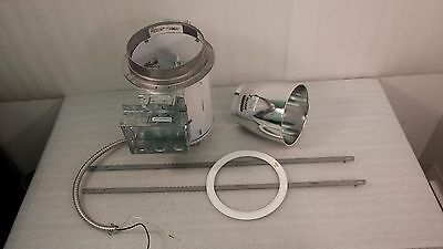 Can /& Difusser Set Halo Industrial Lighting H44T /& Halo 446 w// Trim