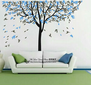 Large Nursery Tree Wall Stickers Vinyl Decal Art Mural Removable Kids Room Decor