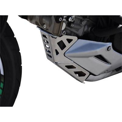 Ducati Multistrada 950 BJ 2017-18 Kühlerschutz Kühlergitter Logo silber