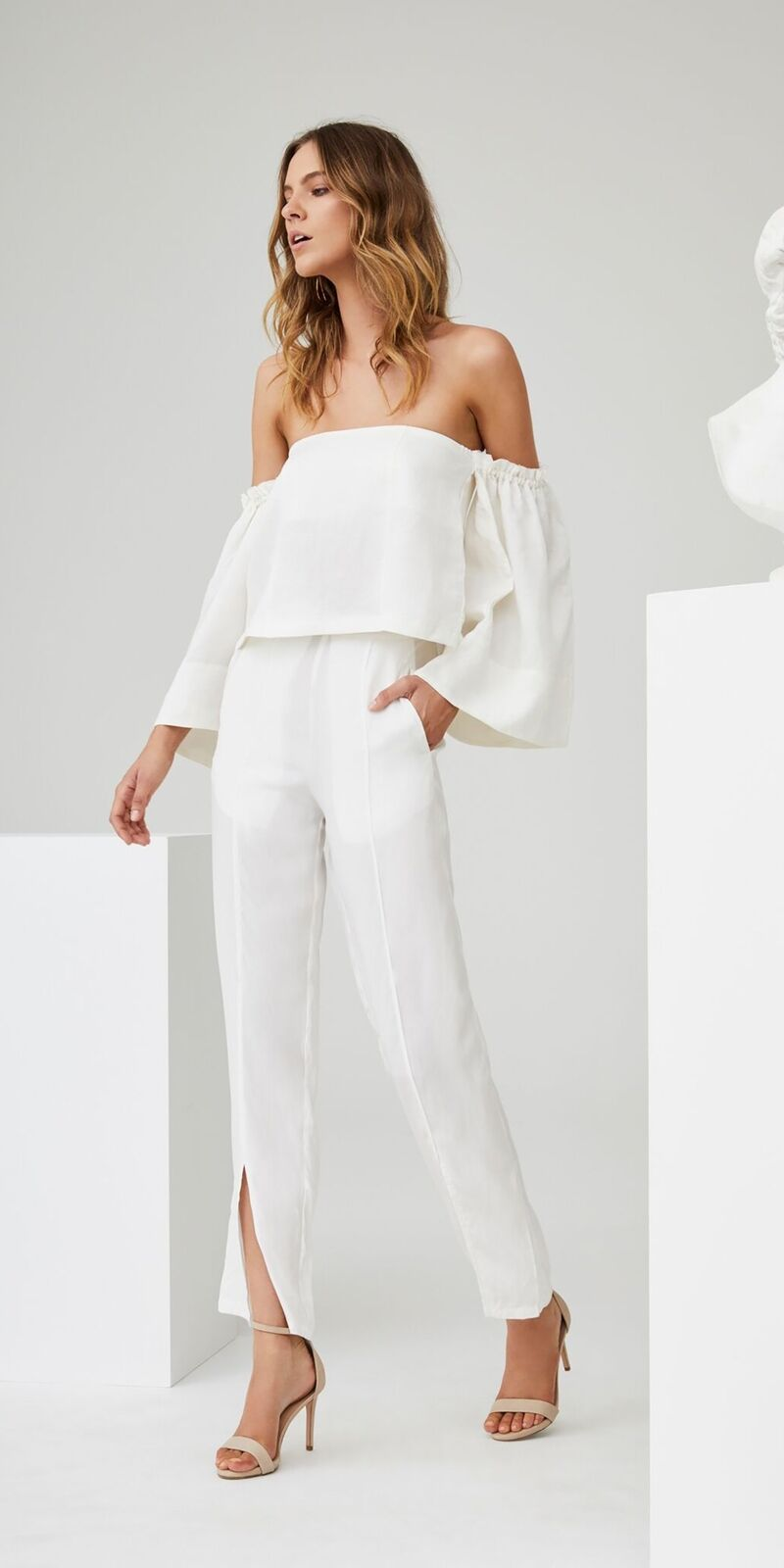 NEW   SIR The Label, Emmanuel Bell Sleeve Top