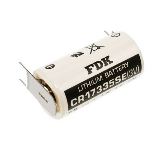 FDK Sanyo 3v Lithium Battery cr17335se Lötfahne 3er Print cr17335 2/3a