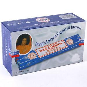 Genuine-Nag-Champa-Incense-12x15g-boxes-of-incense-uk-seller