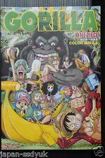 JAPAN One piece Art book: Eiichiro Oda Color walk #6 Gorilla