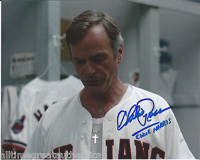 Chelcie Ross Hand Signed Authentic Major Leagure 'eddie Harris' 8x10 Photo W/coa Durable Service Autographs-original