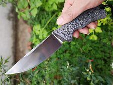 LW Seeker II VG-10 blade Black and white handle KYDEX Sheath camping knives tool