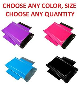Color-POLY-MAILERS-Shipping-Envelopes-Self-Sealing-Plastic-Mailing-Bags-Couture