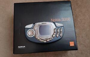 Nokia 3300-schwarz blau (entsperrt) Handy